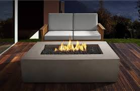 table gel fire bowls furniture ideas rectangle fire pit table with wooden pattern floor