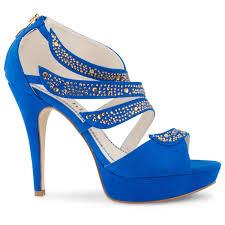 blue heel shoes ebay