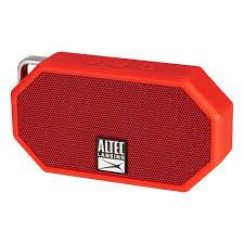 lansing mini h2o rugged bluetooth speaker