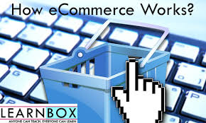 Learn How Ecommerce Works E Commerce How Does It Work Learnbox