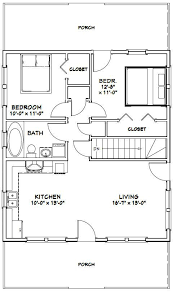plan no 580709 house plans by westhomeplanners house 28x32 house 28x32h2k 848 sq ft excellent floor plans