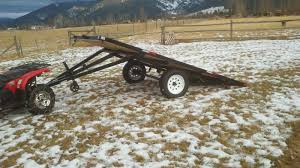 Steel Sled Deck Plans by Trailers For Sale Montana