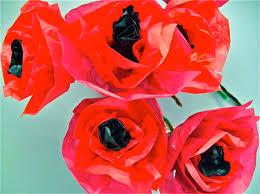 poppies for veteran u0027s day the art junction