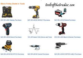 amazon tool deals black friday promo tools of the tradies