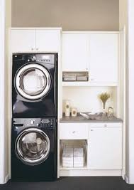 Space Saving Laundry Ideas White by Best 25 Garage Laundry Ideas On Pinterest Utility Room Ideas