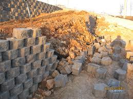 landscape retaining walls segmental block walls