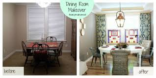 My Dining Room Makeover An Evolution Before  After The - Dining room makeover pictures