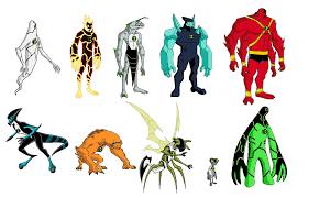 ben 10 ua original aliens deadpool spidey deviantart