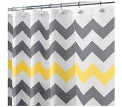 Grey And Yellow Shower Curtains Shower Curtains Bathroom Supplies