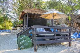 labadee royal caribbean blog beachfront cabanas are next to the beach at the waters edge with full views of the bay they are not wheelchair accessible however guests with limited