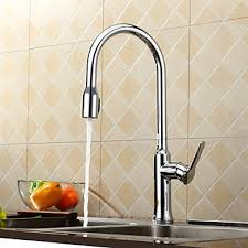 solid brass kitchen faucet contemporary solid brass pull kitchen faucet chrome finish