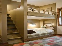 bedroom pink bunk beds design with stairs outstanding kids amusing