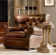 leather reading chair 18 finest reading chairs for your home library restoration