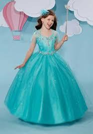 ball gown flower dresses