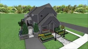 front yard side yard back yard landscape design 3d digital