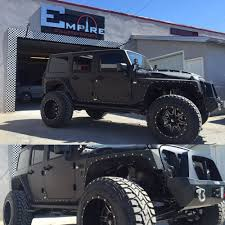 jeep yj custom black custom jeep wrangler u2014 empire collision experts