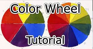 color wheel tutorial how to mix paint youtube