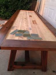 Tile Top Patio Table Learn How To Build A Tile Top Provence Outdoor Dining Table Free