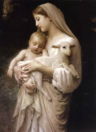 pictures of jesus virgin mary holding the baby jesus and a