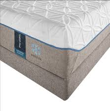 Cooling Mattress Pad For Tempurpedic Tempur Pedic Tempur Cloud Luxe Breeze Mattress Metro Mattress