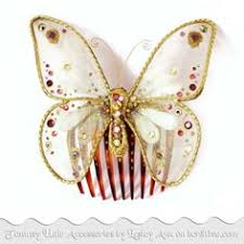 butterfly theme wedding bridal accessories vows