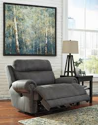 zero wall clearance reclining sofa austere gray zero wall recliner 3840152 recliners