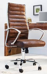 chaise design bureau chaise de bureau fauteuil microfibre antique café vintage design