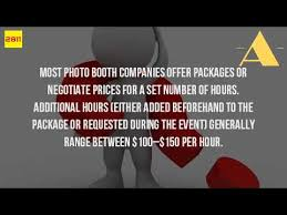 how much does a photo booth cost how much does it cost to rent a photo booth