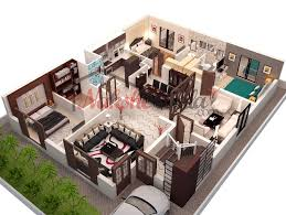 customizable house plans house 3d house plans for 25 more 3 bedroom 3d floor expansive three