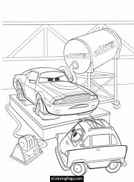 cars 2 printable coloring pages cars 2 professor rod