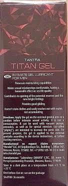 titan gel big penis enlargement jelqing gel and 50 similar items