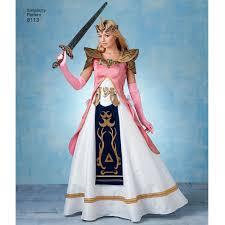 Princess Zelda Halloween Costume Sewing Pattern Warrior Princess Zelda Costumes Fantasy Costumes
