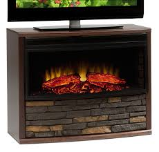 best electric fireplace tv stand home design