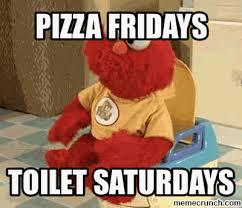Pizza Meme - poop