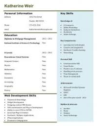 One Page Resume Samples by Resume Template Sample Format For Fresh Graduates One Page With