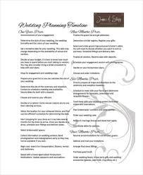 sample wedding timeline example wedding itinerary template
