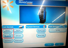 How To Turn Walmart Gift Card Into Cash - how to load bluebird or serve at a walmart atm kiosk