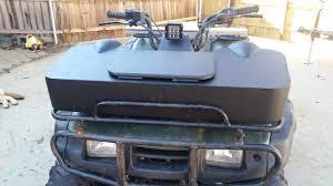 Diy Speaker Box Schematics Front Rack Cargo Speaker Box Build Honda Atv Forum