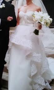 wedding dress lyric lhuillier lyric 2 200 size 4 used wedding dresses