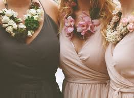 flower necklace wedding images The most beautiful bridesmaid necklaces made from real flowers jpg
