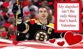 hockey valentines cards is in the air nhl s day cards the sports daily