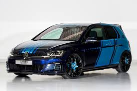 etcm claims first hybrid mpv vw golf gti first decade 404bhp show car arrives at worthersee