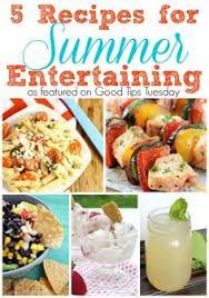 Summer Entertaining Recipes - simple summer entertaining simple home and entertaining