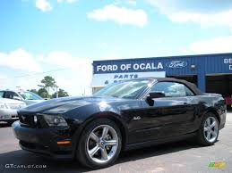 Black 2011 Mustang Gt 2011 Ebony Black Ford Mustang Gt Premium Convertible 61344473