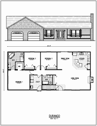 ranch floor plans with 3 bedrooms pine floors new ranch style homes 3 car garage house plans one