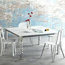 crate and barrel bistro table crate and barrel marble table gitana co