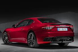 red maserati sedan maserati brings granturismo mc centennial edition and ghibli app to ny