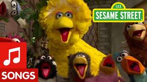sesame street big bird sings