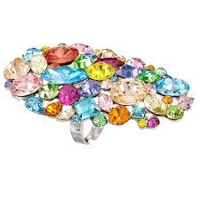 multi color swarovski crystal bracelet images Swarovski crystal multi coloured crystal necklaces earrings jpg