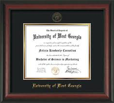 14x17 diploma frame of west diploma frames and uwg graduation